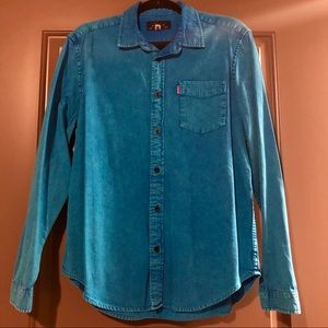 MNWKA Bright Blue Button-Up Shirt